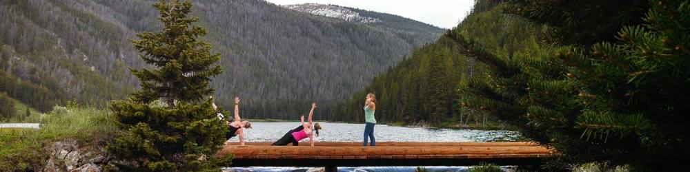 jackson hole guest ranch yoga